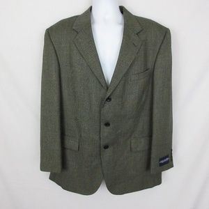 Oscar De La Renta Wool Suit Jacket New